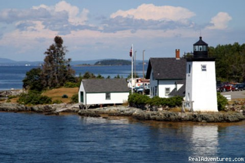 Grindle Point Lighthouse - Maine's Penobscot Bay Adventure