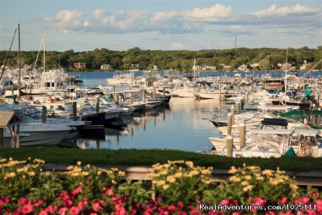 Flowers, water, views ... - Romantic Waterfront B&B near Mystic and Casinos