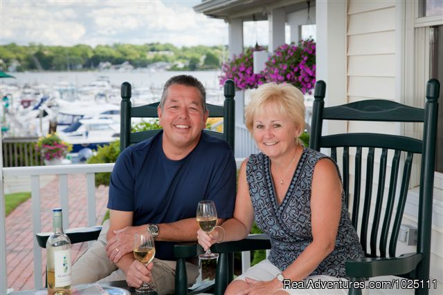 Innkeepers - Sue & Dave Labrie - Romantic Waterfront B&B near Mystic and Casinos