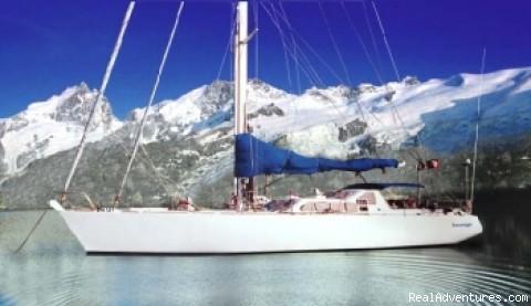 Sail in Patagonia, Tierra del Fuego Sailing Vessel Sauvage