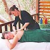 Relaxing therepeutic massage