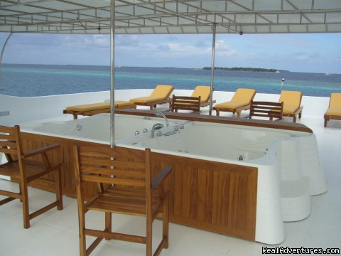 Princess HALEEMA (#7 of 13) - yacht charter,dive, surfing charters Maldives