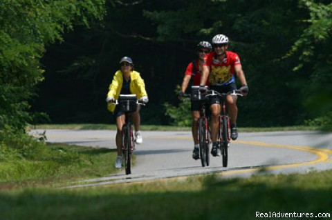 Biking Along the Blue Ridge Parkway - North Carolina Biltmore & Blueridge Adventure