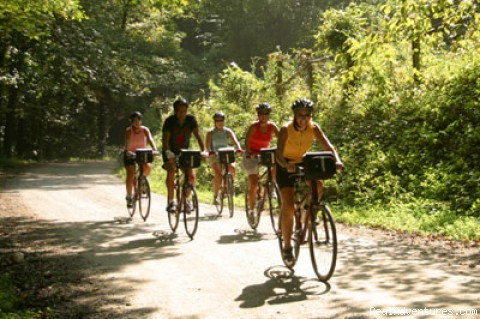 Skirting the Smoky Mountains on Bicycles - Great Smoky Mountains Adventure
