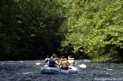 Whitewater Rafting the Nantahala - Great Smoky Mountains Adventure