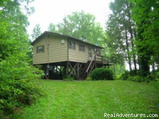 Mountain Valley View Cabin w/ deck on front - Smoky Mountain Cabin w/ great views - Cherokee NC