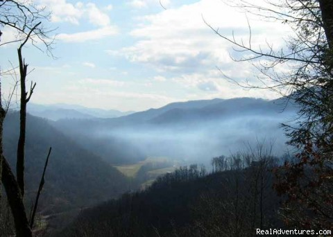 Why it's called the Smoky Mountains - Smoky Mountain Cabin w/ great views - Cherokee NC