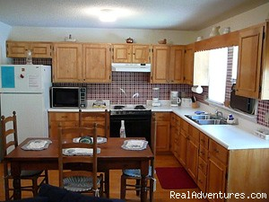 Kitchen - Cherokee NC Log Cabin Rental w/ Hot Tub