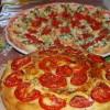 Focaccia & Crostini with tomato