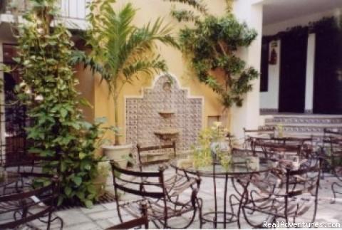 Courtyard (#4 of 5) - Cancun INN Suites El Patio