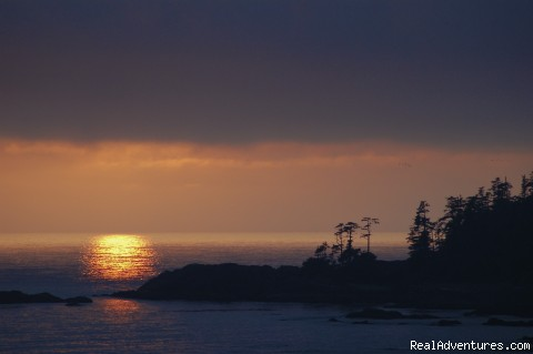 Big Beach sunset, Ucluelet - A Wild Pacific Bed & Breakfast, Ucluelet