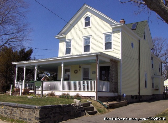 The front of the house - Stirling House Bed and Breakfast - Greenport NY