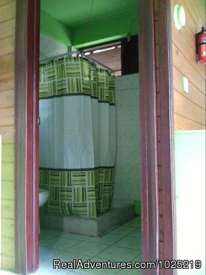 Cottage Shower - 3 Rivers Eco Lodge