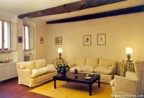 Living-room - Apartments in Rome  - Vicolo delle Palle (PA2)