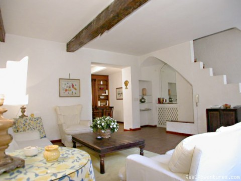 Living-room - another view - Apartments in Rome  - Vicolo delle Palle (PA2)