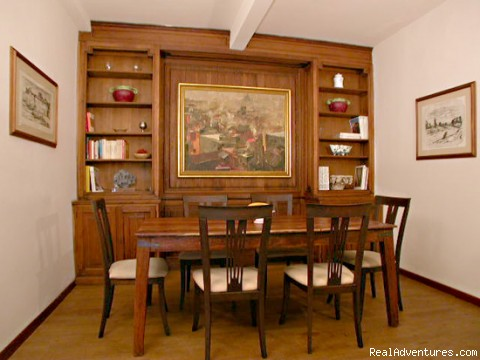 Dining room - Apartments in Rome  - Vicolo delle Palle (PA2)