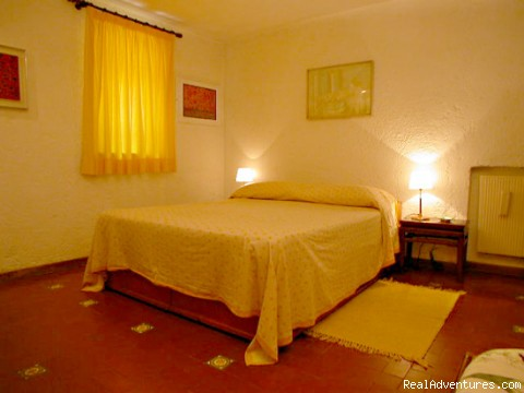 Queen bedroom - Apartments in Rome  - Vicolo delle Palle (PA2)