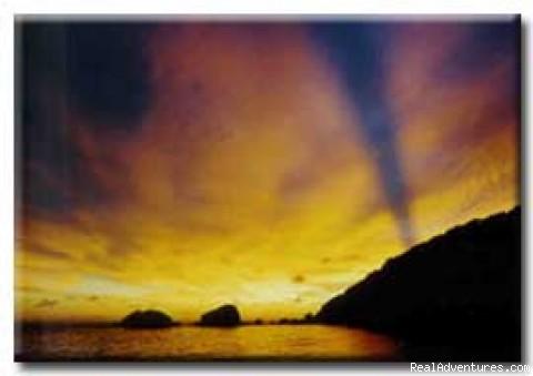 Similan Islands Dive Cruise: Similan Islands sunset
