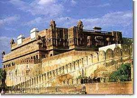 Junagarh Fort , Jodhpur - Camel Safari In The Thar (Rajasthan)