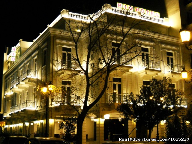 Exterior By Night - Hotel Rio Athens