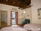 twin bedroom - Apartment in Rome - Via dei Greci