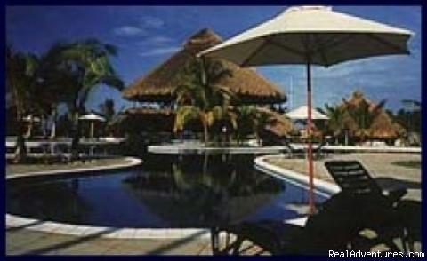 Guatemala Sport Fishing: Villas del Pacifico Pool