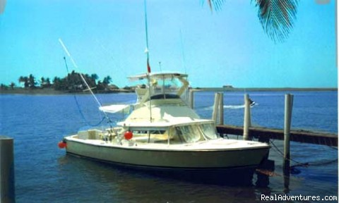 One of our 31ft. Bertrams - Guatemala Sport Fishing