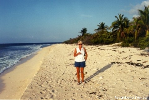 Sheltered white-sand beach (#3 of 22) - Caribe Sands Beach Resort - Dive Cayman Brac