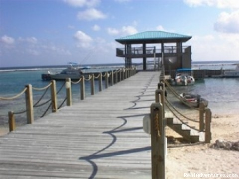 The Dock & Pavillion - Caribe Sands Beach Resort - Dive Cayman Brac