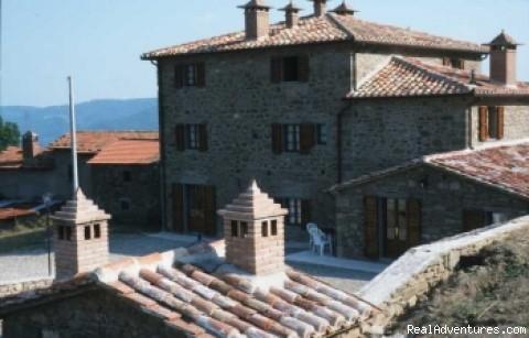 Villa Cuiano Back side - Villa Cuiano