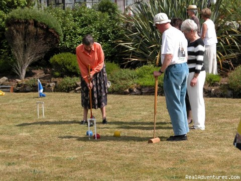 Carlton Croquet Tournament - Fabulous Views Of The Isle Of Arran