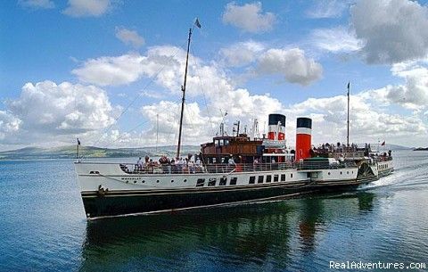 Paddle Steamer Waverley - Fabulous Views Of The Isle Of Arran