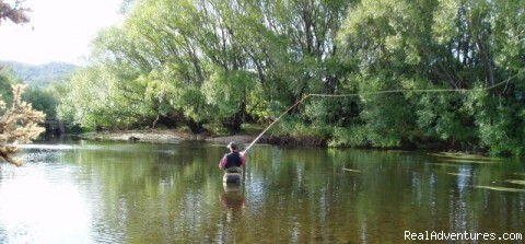 Stream Angler - Fly Fishing Australia wilderness streams horseback