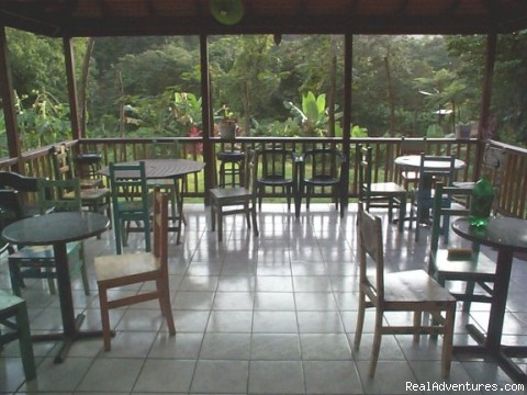Rosalie Forest Eco Lodge: restaurant