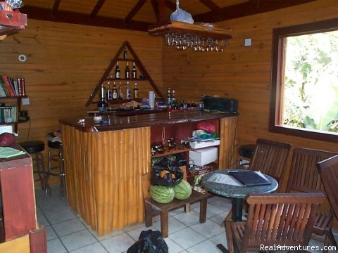 bar - Rosalie Forest Eco Lodge