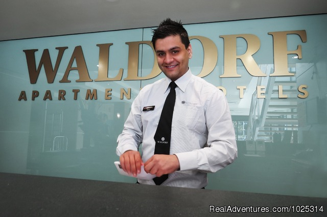 Friendly Reception and Staff - Parramatta Waldorf Apartment Hotel Sydney