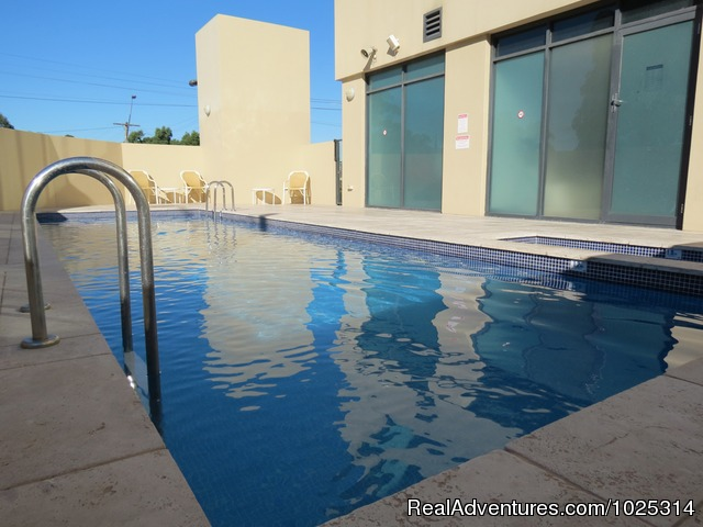 Outdoor Pool - Parramatta Waldorf Apartment Hotel Sydney