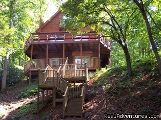 A Singing Creek Awaits You At This Mtn Cabin Blairsville, Georgia Vacation Rentals
