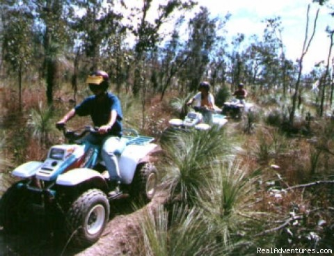 Quad excursions - Val di kam