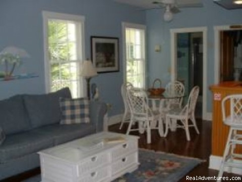 Living Room - Island Wind Key West Vacation Home Rentals