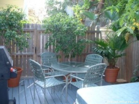 Private Deck with Hot Tub (#5 of 7) - Island Wind Key West Vacation Home Rentals