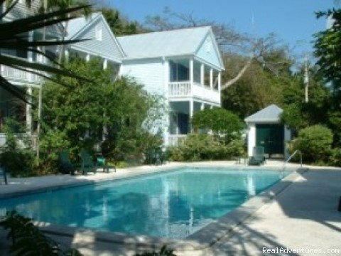 Pool View - Island Wind Key West Vacation Home Rentals