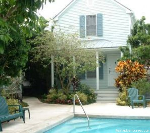 Lone Palm Old Town Key West Vacation Home Rental: Lone Palm