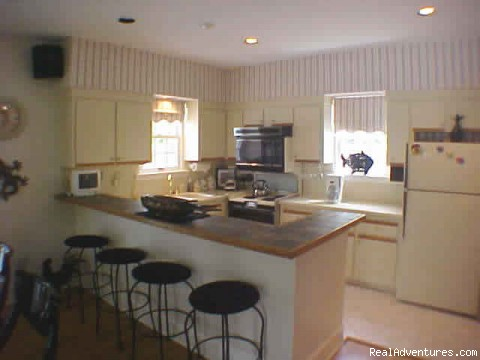 Breakfast Bar & Kitchen - Lone Palm Old Town Key West Vacation Home Rental