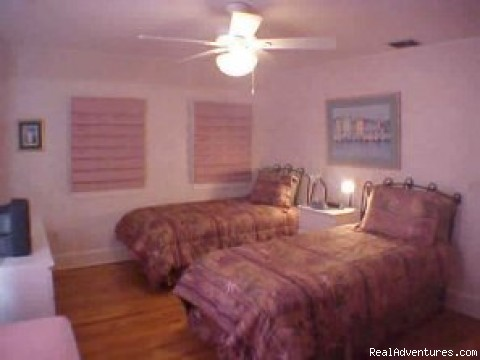 Guest Bedroom - Lone Palm Old Town Key West Vacation Home Rental