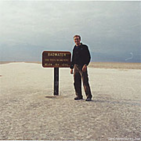 The Badwater Salt Flat (#4 of 8) - Death Valley Adventure