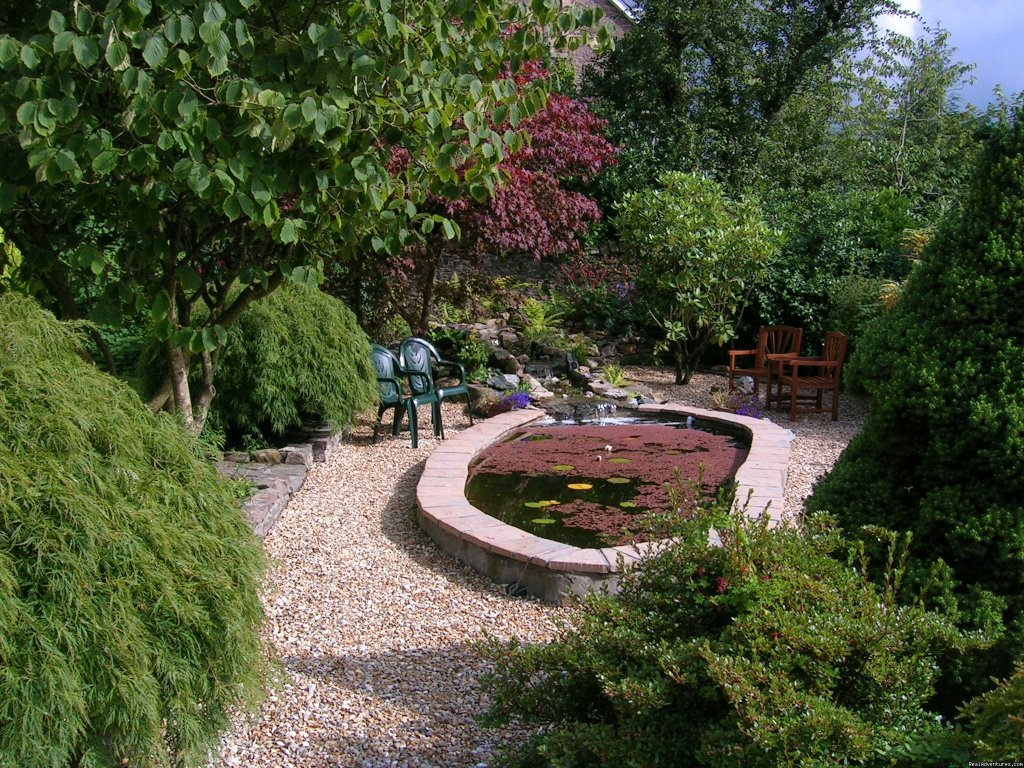Garden Pond, Kilronan House | Image #6/6 | Stirling, Scotland , Kilronan Guest House B&B