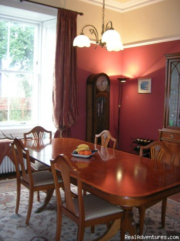 Dining Room, Kilronan House - Stirling, Scotland , Kilronan Guest House B&B