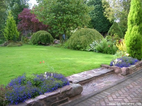 Garden, Kilronan House - Stirling, Scotland , Kilronan Guest House B&B