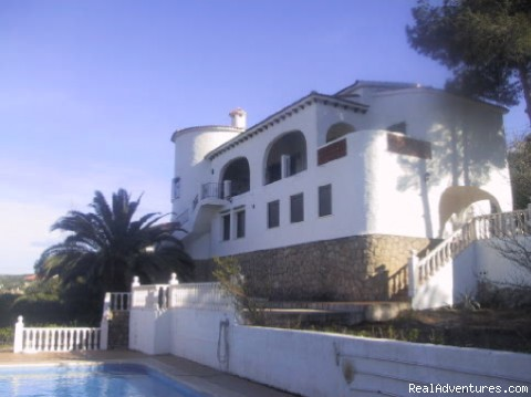 POOL AREA - Villa rental Costa Blanca Spain